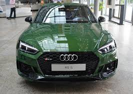 2018 audi rs5 coupe. simple audi 2018 audi rs5 coupe in sonoma green spotted at forum ingolstadt and audi rs5 coupe