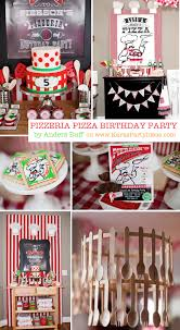 Italian Chef Decorations Kitchen Karas Party Ideas Little Chef Pizza Pizzeria Girl Boy Birthday