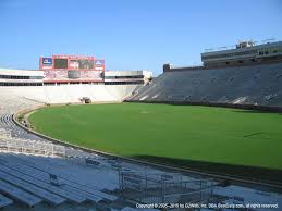 Doak Stadium Seating Chart Doak Campbell Stadium View From Section 27 Vivid Seats
