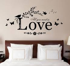 nice decorating wall art decor for bedroom modern sticker decal love es patched contemporary wooden amazing ideas