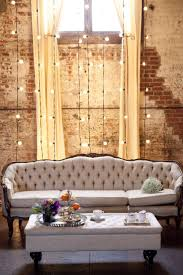 eclectic brooklyn wedding inspiration bedroomterrific eames inspired tan brown leather short