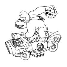 Leuk Voor Kids Donkey Kong Kleurplaten