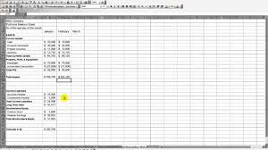 mike company proforma balance sheet mp4 mike company proforma balance sheet mp4