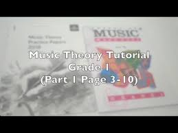 Music is written down in a number of different ways around the world. Music Theory Grade 1 Part 1 Theory Made Easy By Lina Ng Workbook Youtube