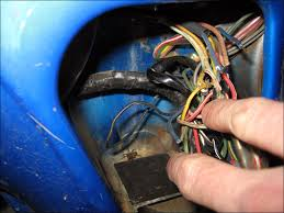 time to update the cl70 electrical harness fourwheelforum remember this nasty wire you get 2 points if you spotted the spider in the background i didn t realize that little guy was down there watching me work