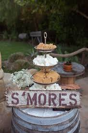 Wedding ideas for summer Wedding Centerpieces Smores Table Woman Getting Married 15 Summer Wedding Ideas Were Loving