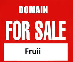 domain fruii low 5 letter ounceable domain