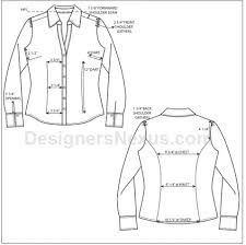 Costume Measurement Sheet Template How To Spec A Garment Basic Points Of Measure For Apparel