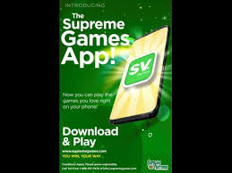 Supreme Ventures Launches Supreme Games Mobile App Outlook
