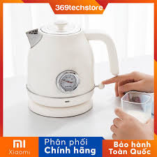 HÀNG CHÍNH HÃNG ] Bình đun nước siêu tốc Xiaomi OCooker phong cách vintage,  homestay
