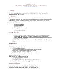 food and beverage server resume template food and beverage server resume