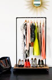 diy garment rack smitten studio