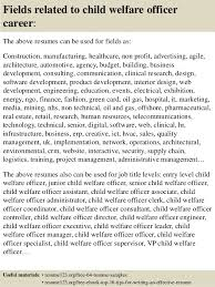 Child Welfare Worker Sample Resume Mesmerizing Top 44 Child Welfare Officer Resume Samples