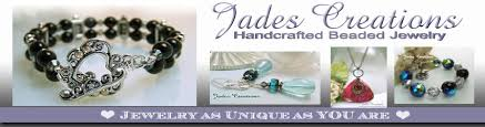 jades creations handcrafted beaded jewelry home page logo