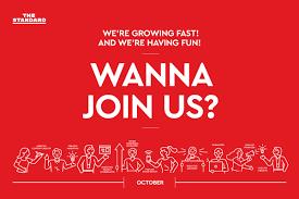THE STANDARD เปิดรับสมัครเพื่อนร่วมงานเพิ่มเติมหลายตำแหน่ง   WeGoInter.com  - เรียนต่อต่างประเทศ