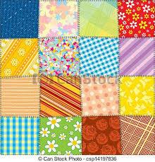 Quilt patchwork texture. seamless vector pattern. Quilt... vectors ... & Quilt Patchwork Texture. Seamless Vector Pattern Adamdwight.com