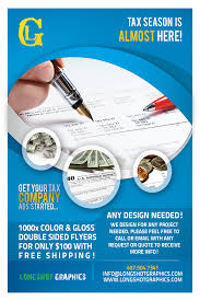 flyers orlando tax season flyer special taxes graphic design orlando longshot