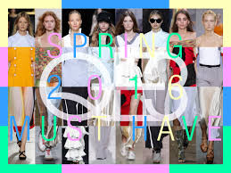 Q E3 spring 2016 fashion must have - Must Have Items in Spring/Summer,