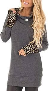 Yingkis Women's Long Sleeve Plaid Hoodies Tunic Tops <b>Button</b> ...