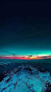 Check out this fantastic collection of 4k iphone wallpapers, with 67 4k iphone background images for your desktop, phone or tablet. Best Iphone Wallpapers 4k Ultra Hd Mountain Snow Blue Nature Photography Mountain Sunset Beautiful Nature