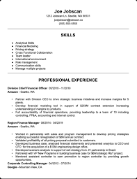 Templates also show you what elements you need to include. Resume Examples For Any Job Jobscan