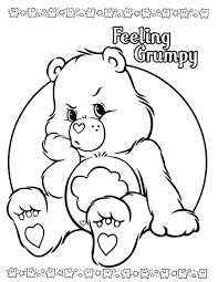 Small Picture care bears coloring pages Only Coloring Pages Crafty 80s