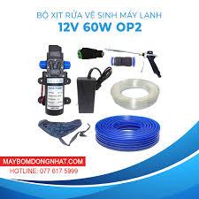 Giá Bán Bộ Xịt Rửa Xe Vệ Sinh Máy Lạnh 12V 60W - Option 2 Hôm Nay