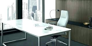 glass top office desk. Glass Office Desk Furniture Top Modern