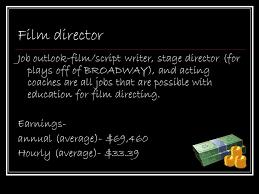 Career Presentation Film Director & Fashion Editor. - Ppt Download