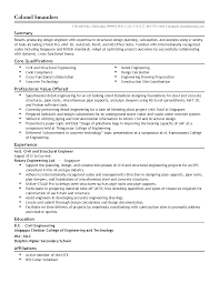 Template Professional Assistant Structural Engineer Templates To