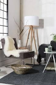 living room floor standing lamps tripod wood floor lamp with sofa