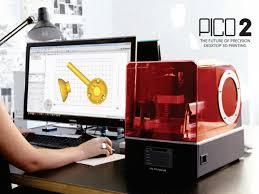 image of resin dlp sla 3d printer asiga pico 2