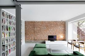 the brick condo furniture. Amazing Modern Living Room Design Ideas With Lovely Green Sofa And Cool Lighting Also Table The Brick Condo Furniture I