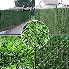 chain link fence privacy screen. Synturfmats Artificial Hedge Slats Panels For Chain Link Fencing Outdoor Faux Privacy Screen Fence Y