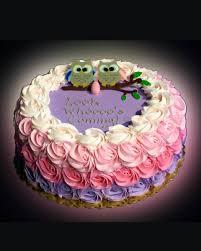 Baby Shower Cakes  Sweet Somethings DessertsOwl Baby Shower Cakes For A Girl
