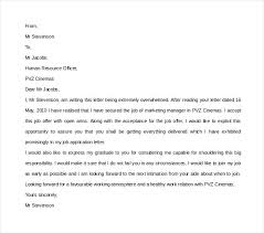 Getting Job Offer Thank You Letter Not Accepting Job Offer Sample Format For Writing