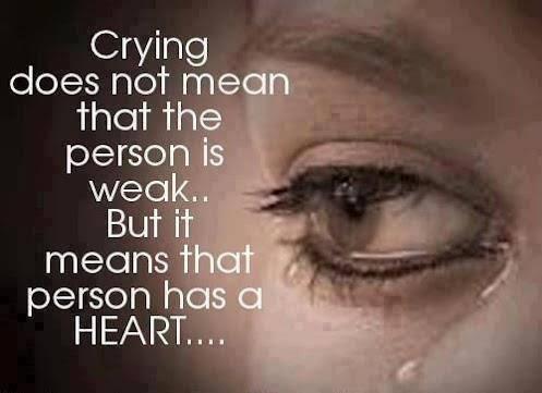 crying sad msg