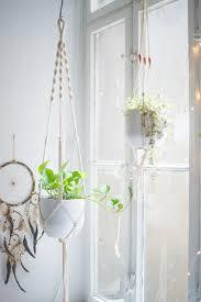 macrame plant hanger tutorial
