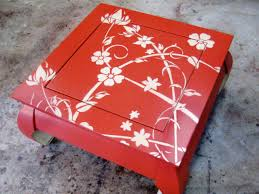 painting designs on furniture. Apply A Lacquer Topcoat Painting Designs On Furniture