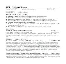 Resume Examples For Medical Assistant Best Certified Medical Assistant Resume Samples Resume Certified Medical