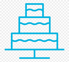 Line Drawing Of A Wedding Cake Vector Graphics Clipart 2164648