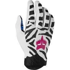 Wiggle Com Fox Racing Flexair Glove Zebra Le Gloves