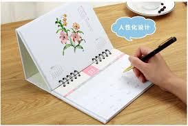 creative desk calendar. Plain Creative 2017 Business Table Calendar Korea Creative Office Printing Calendars  Weekly Plan Notebook Desk Desktop Notepad In S