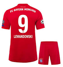 Get the best deals for bayern munich jersey 2020 at ebay.com. Lewandowski 9 Printed 2019 20 Bayern Munich Half Sleeves Home Jersey With Shorts Champions League Patches Master Quality L Amazon In Sports Fitness Outdoors
