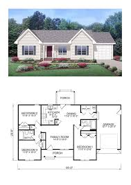house plan chp 39172 bedrooms and sims with 3 starter home floor