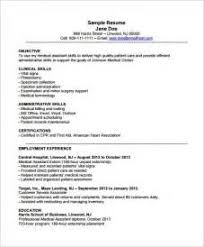 Medical Assistant Resume Objectives Resume Examples Medical Assistant Pointrobertsvacationrentals 85