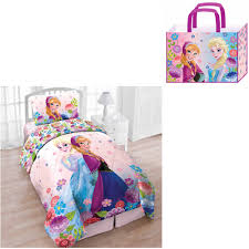 disney s frozen fl breeze twin 4 piece bed in a bag with bonus tote com