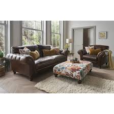 bronte leather chesterfield sofa bronte leather chesterfield sofa and chair