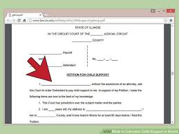 New Illinois Child Support Chart How To Calculate Child Support In Illinois With Pictures