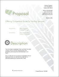 Transportation Shipping Services Sample Proposal 5 Steps